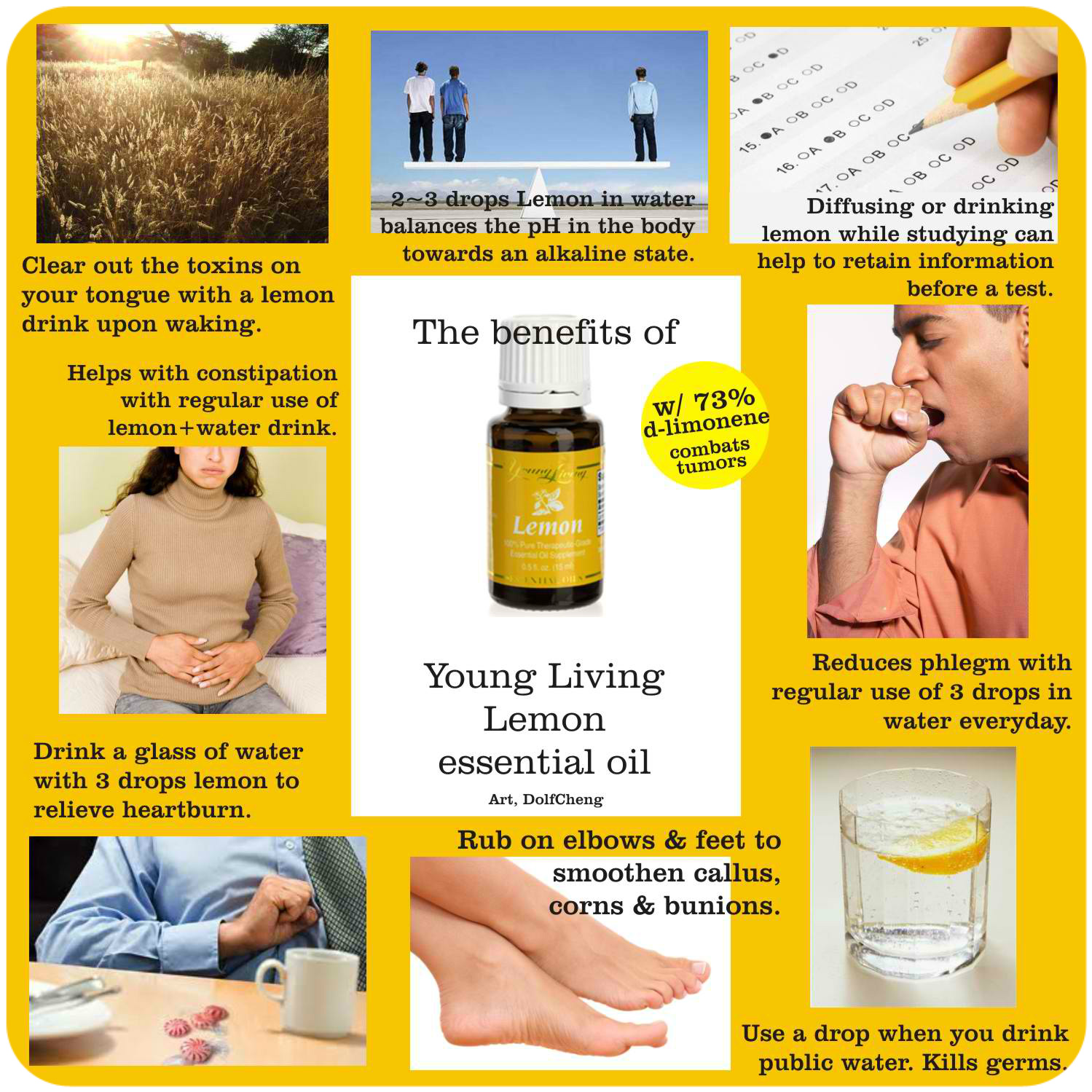 Benefits of Lemon YL
