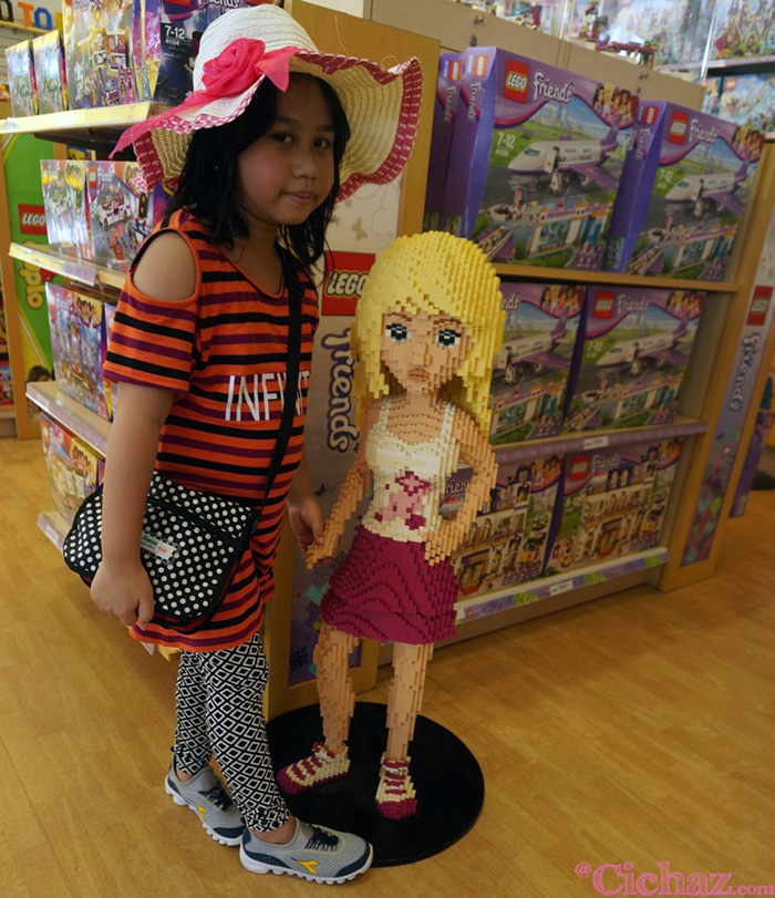 With Lego Friends
